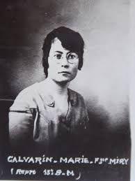Marie Miry - Calvarin (photo publiée dans le Maitron)