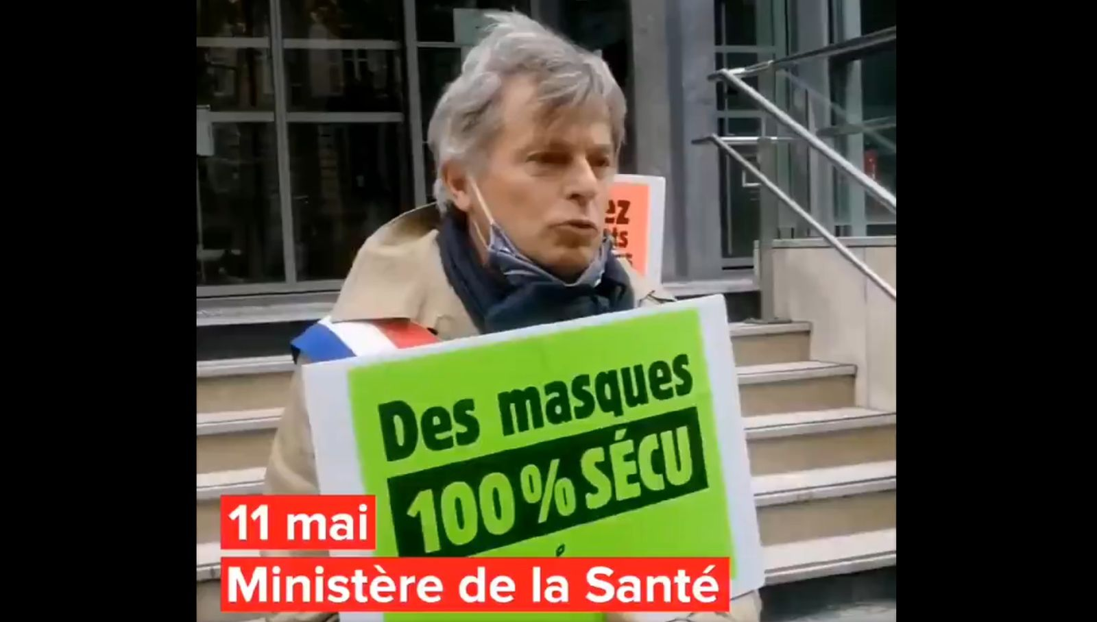 Le PCF demande au Ministre Véran la gratuité des masques et leur prise en charge à 100%