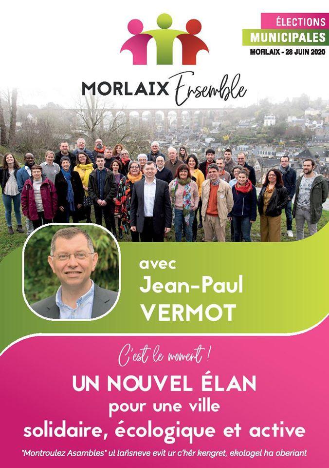 Morlaix Ensemble - 11 jours pour faire gagner la gauche à Morlaix et redonner un nouvel élan à notre ville: nos rendez-vous de quartiers et facebook live