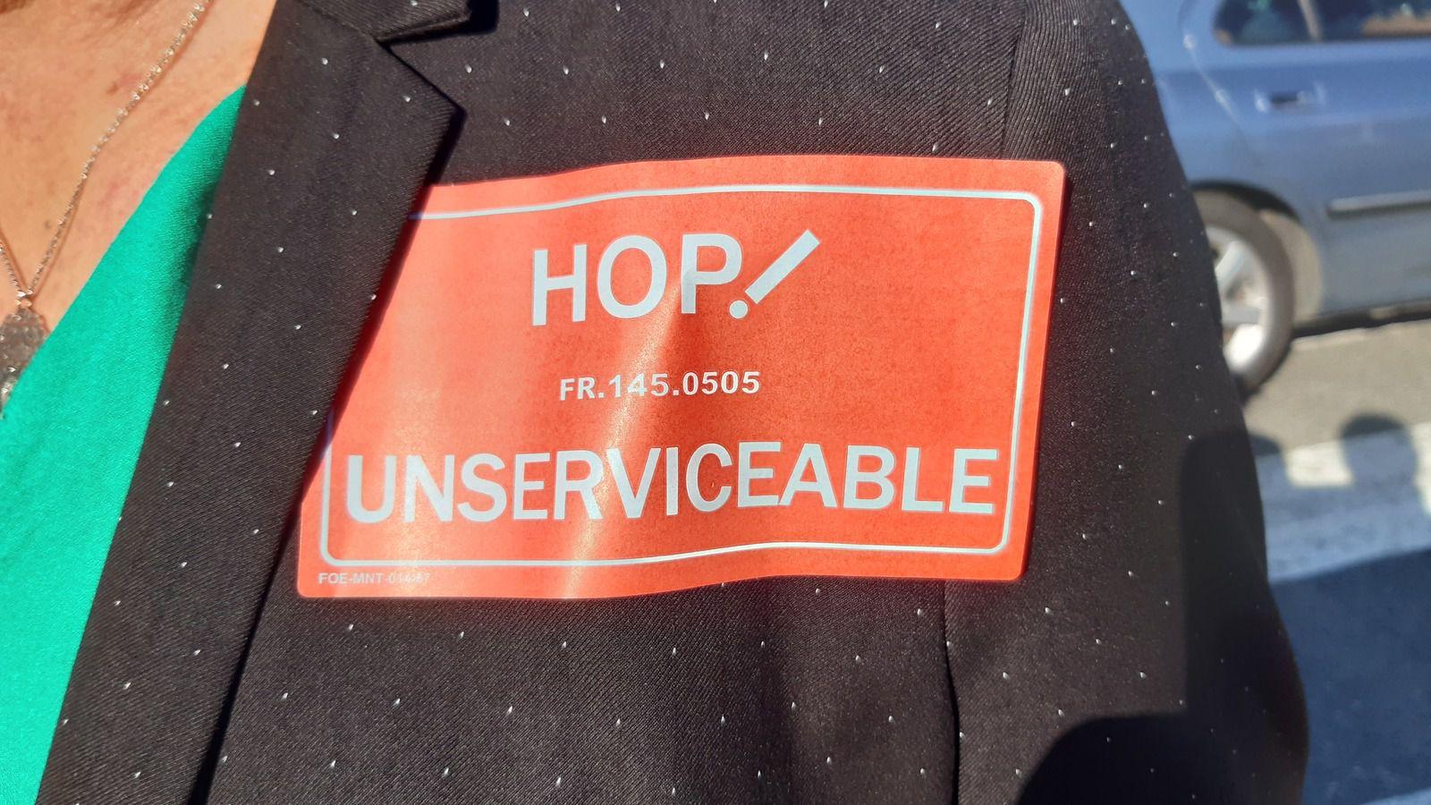 Vendredi 3 juillet: 200 salariés, élus, citoyens mobilisés à Morlaix pour Hop!
