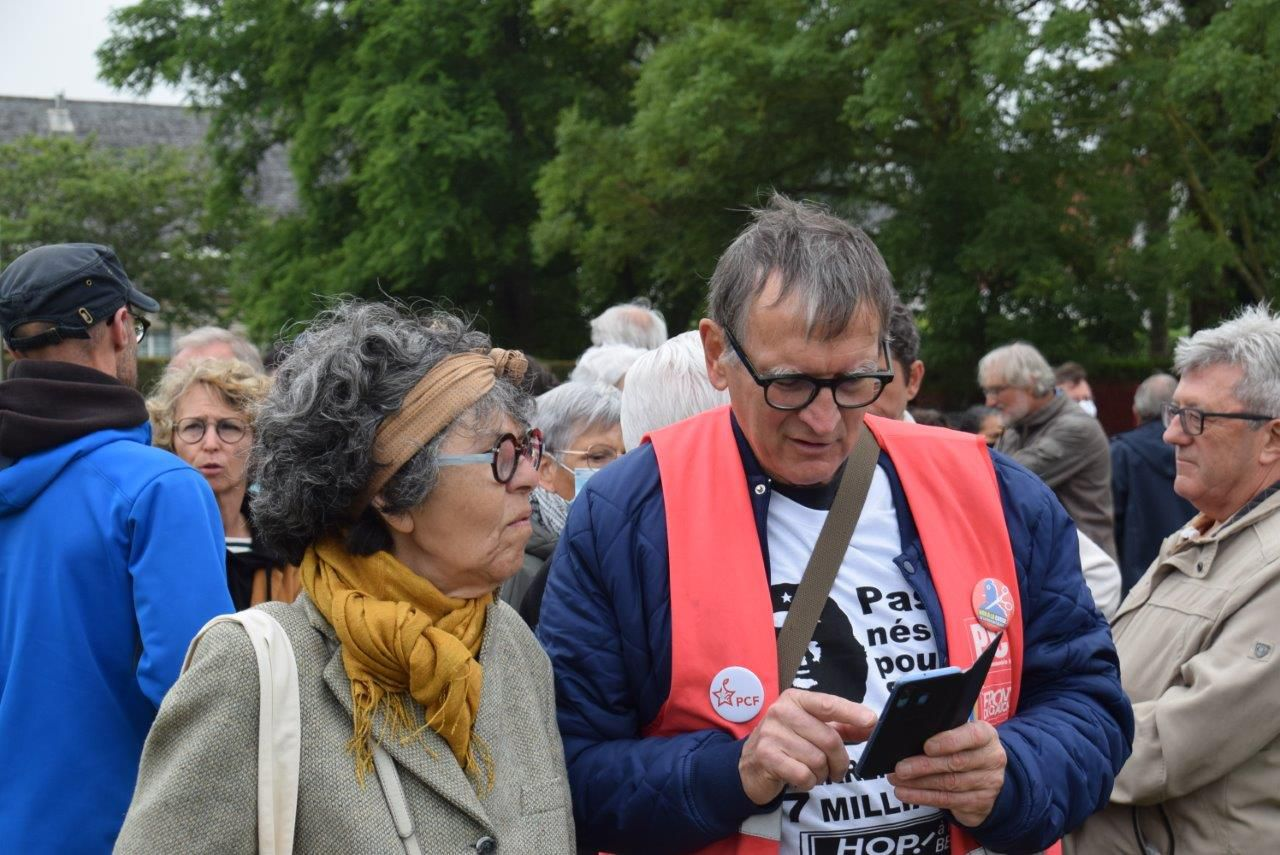 Photo Pierre-Yvon Boisnard, Manifestation Hop! - 8 juillet 2020