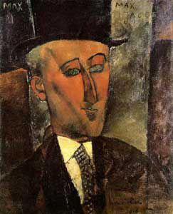 Portrait de Max Jacob par Modigliani
