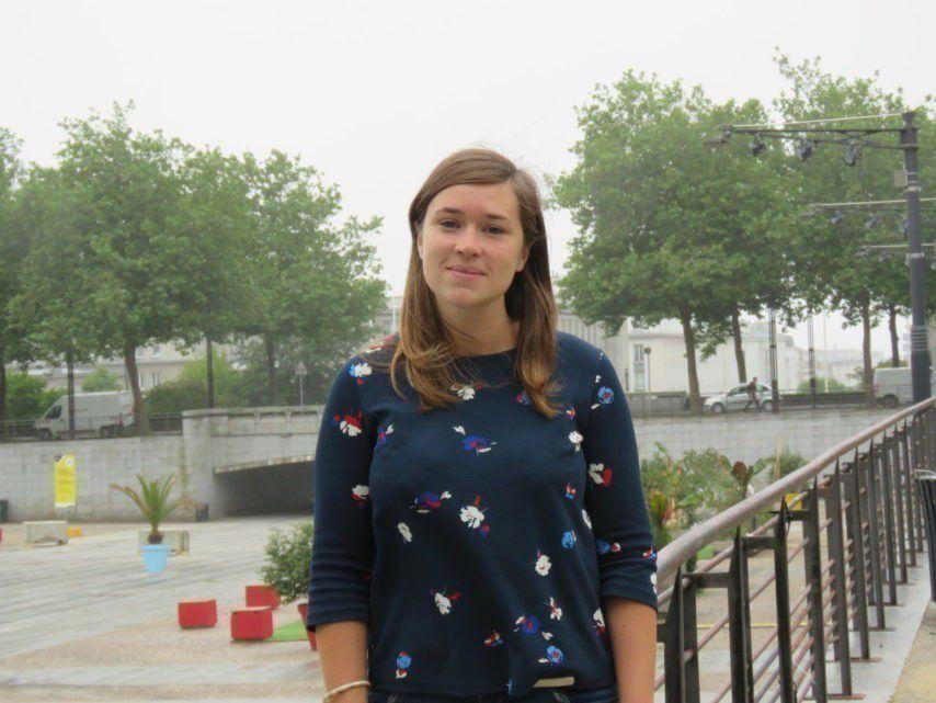 Mathilde Maillard fait partie des nouveaux élus de la Ville de Brest. Elle est adjointe en charge de la politique du bien vieillir et de l'inclusion des personnes en situation de handicap. (©Côté Brest)