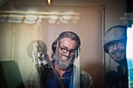 Juin 2016 - Enregistrement de l'album chansons pour HANK EST EN VILLE