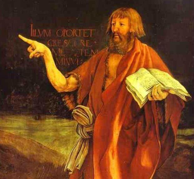 Jean désigne Jésus sans encore donner son nom