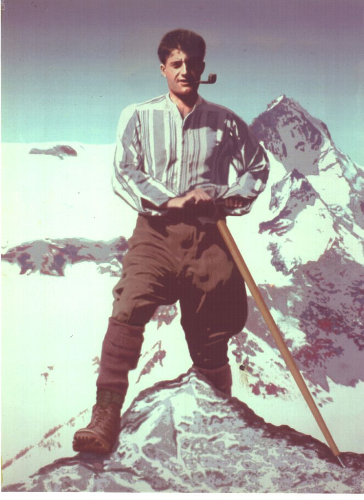 "Qui peut gravir la montagne du Seigneur ? ""Vers le haut"" 'Pier-Giorgi Frassati)"