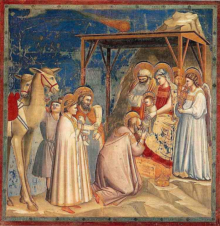 Adoration des mages (Giotto)