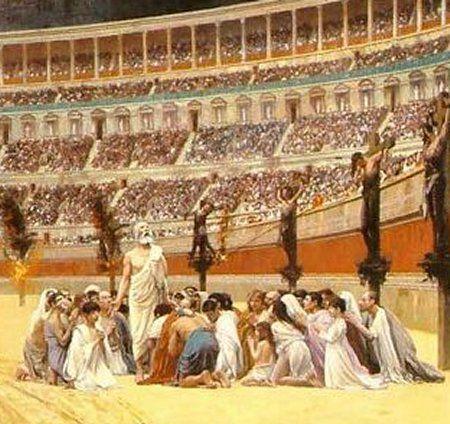 Des chrétiens persécutés, qui ont donné leur vie au Christ, sans renier leur foi, morts martyrs