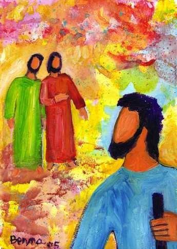 « Que cherchez-vous ? » Ils lui répondirent : « Rabbi (c'est-à-dire : Maître), où demeures-tu ? » Il leur dit : « Venez, et vous verrez. »