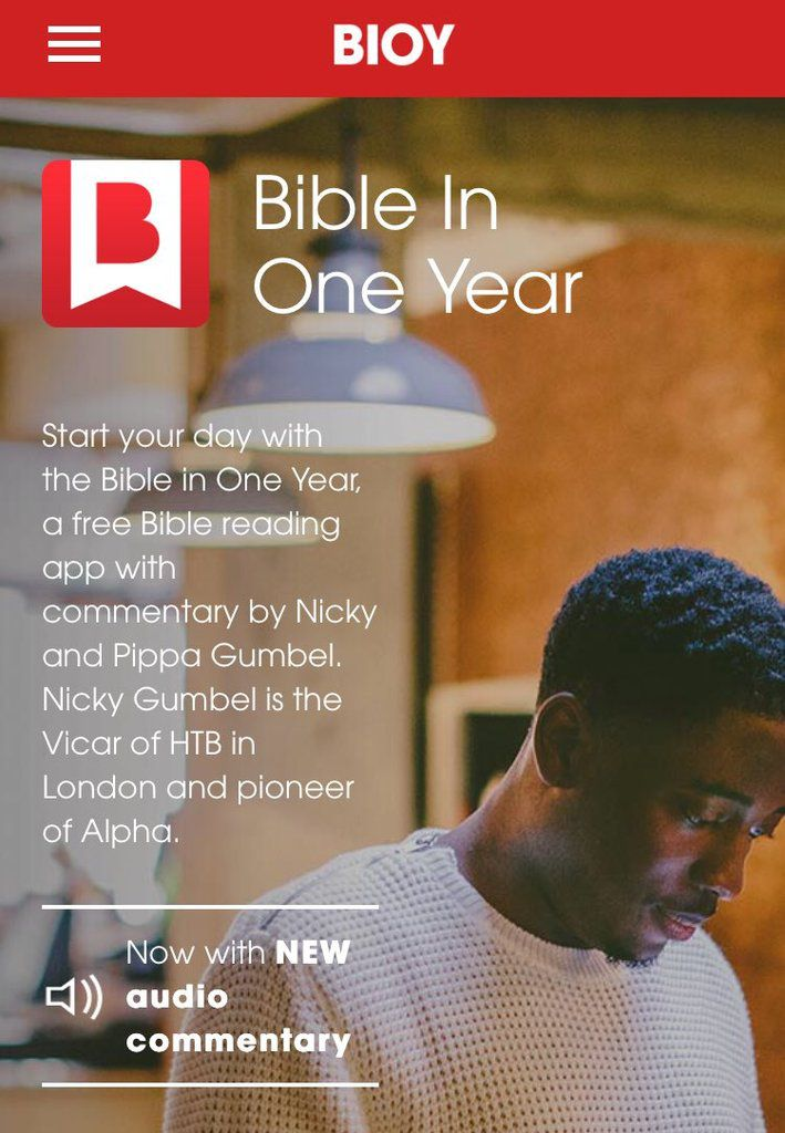 Bible In One Year (BIOY) by Gumbel Nicky and Pippa