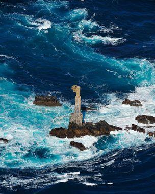 Courants contraires dans l'océan