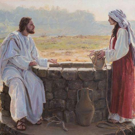 """Jésus à la Samaritaine : """"Donne-moi à boire"""" (Jn 4)"""