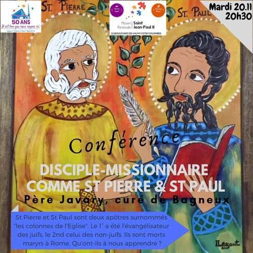 Icône de St Pierre St Paul (Colombes)