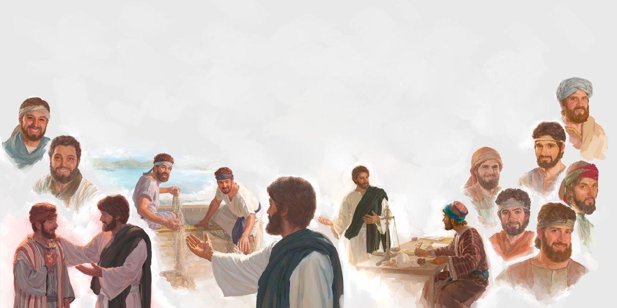 Jésus forme ses disciples