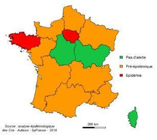 Démarrage précoce de l'épidémie de grippe saisonnière en Bretagne