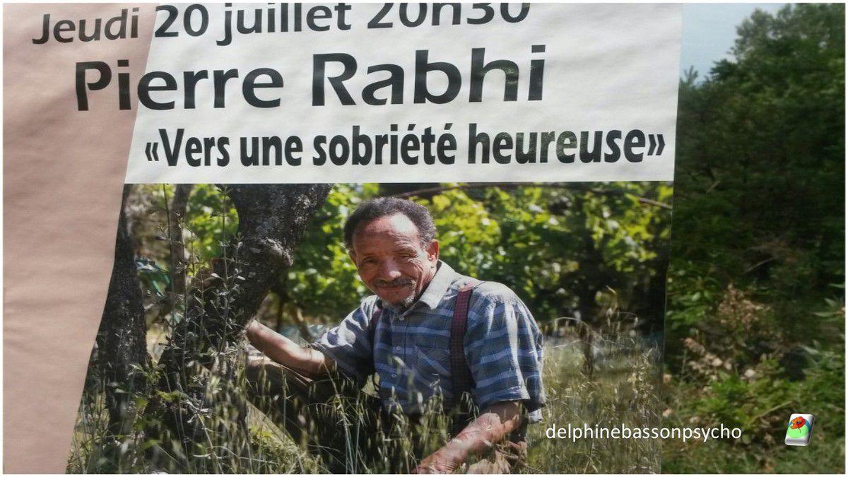Comment accéder à la sérénité heureuse par Pierre Rabhi