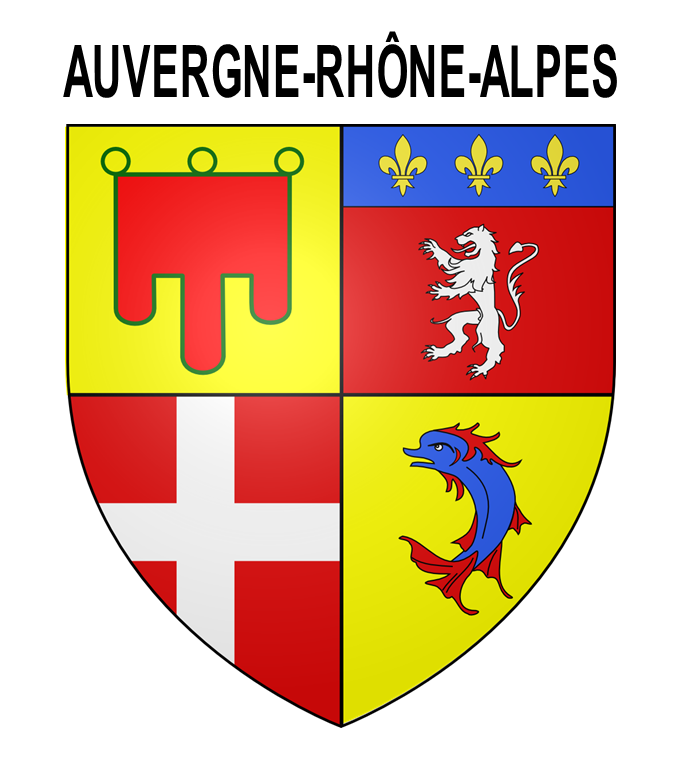 un pictogramme pour auvergne rh ne alpes un blason pour ma r gion. Black Bedroom Furniture Sets. Home Design Ideas