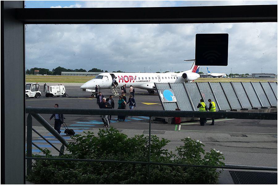 compagnie HOP vol Rennes/Amsterdam