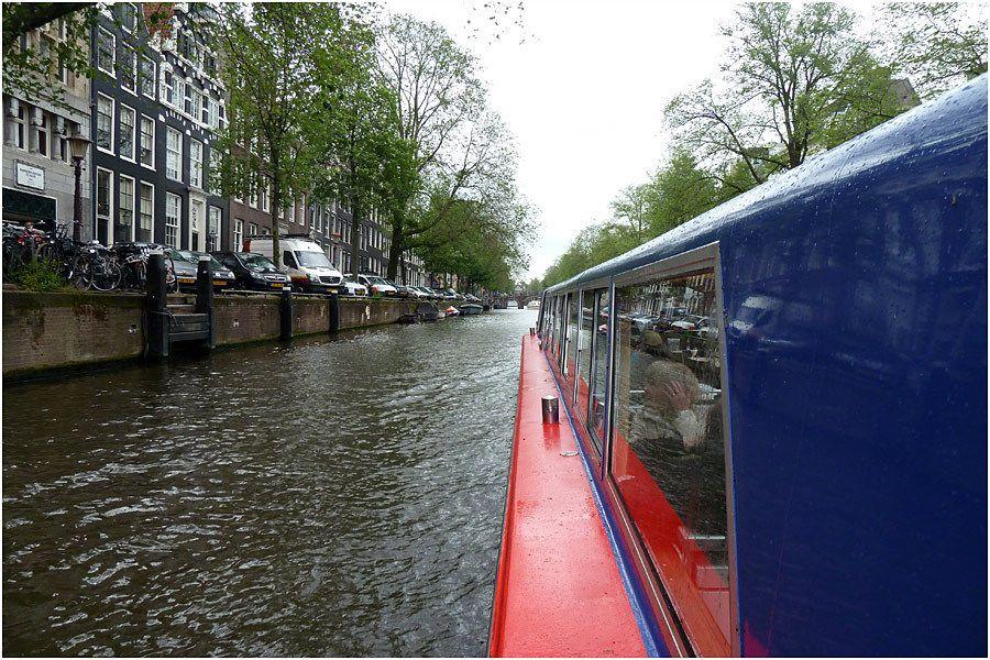 Amsterdam - croisière sur les canaux