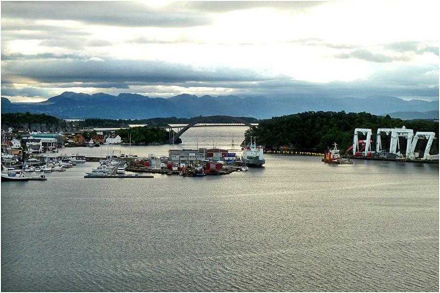 Croisière en Norvège - arrivée au port de Stavanger