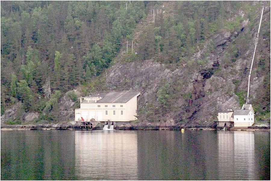 Navigation dans le Storfjord