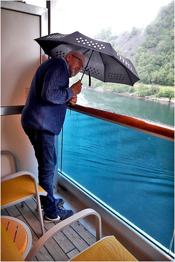 Costa Marina - Fjord de Geiranger sous la pluie