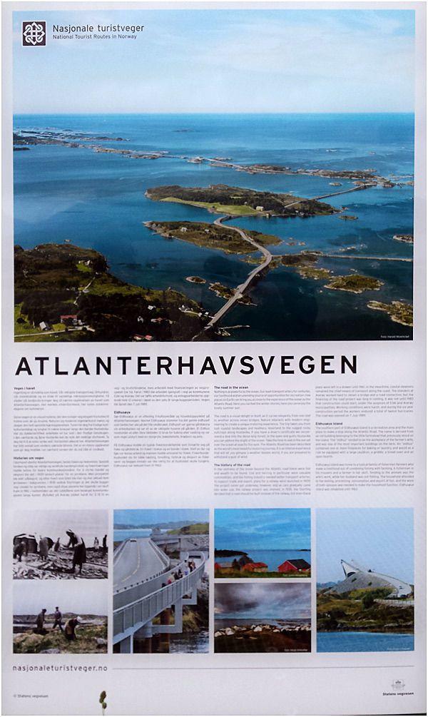 Costa Magica - Norvège - Andalsnes - la route de l'atlantique