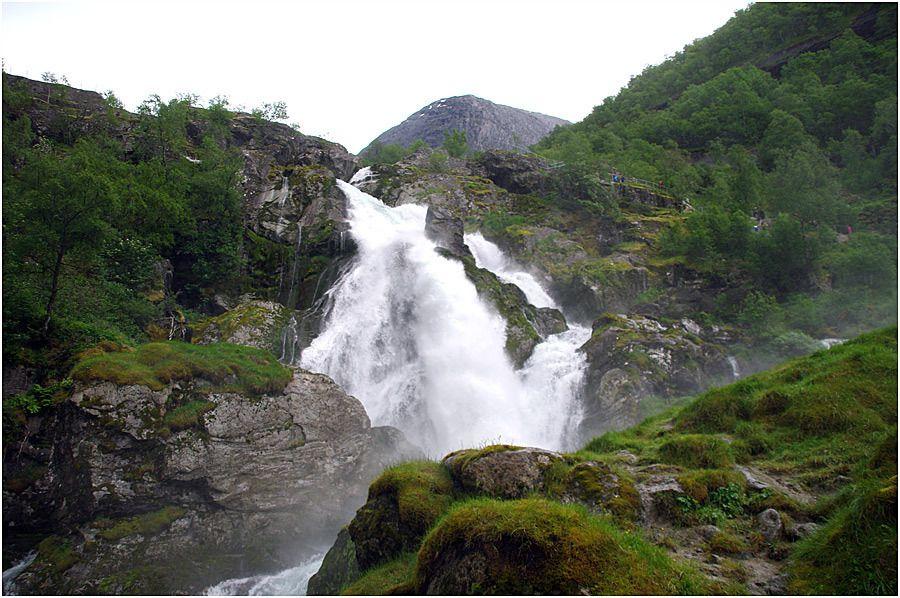 Costa Magica - Olden - randonnée vers le glacier de Briksdal