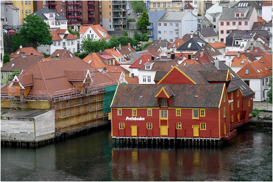 Costa Magica - Bergen - arrivée au port