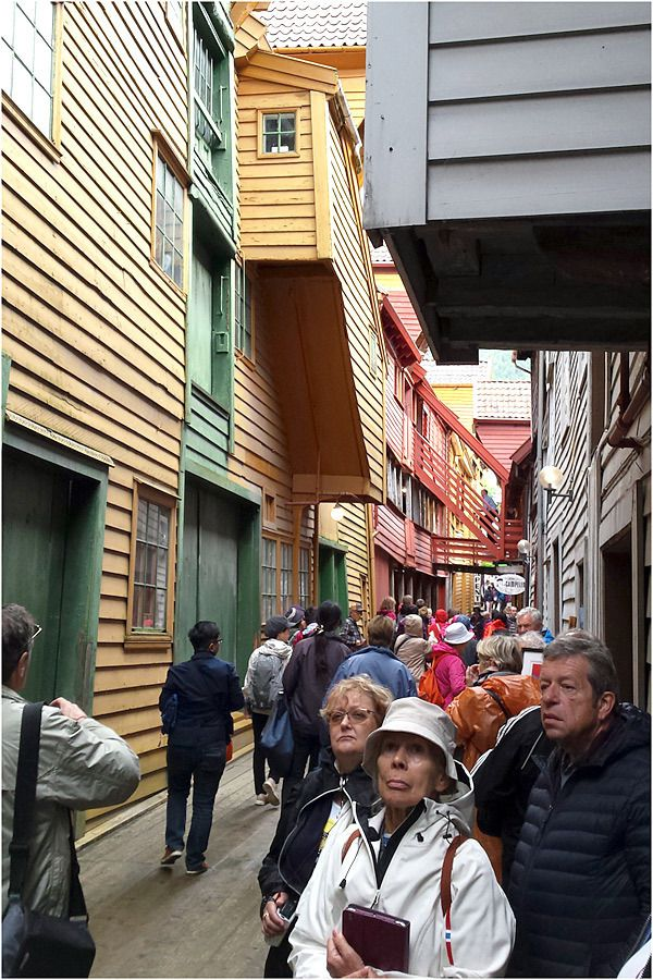 Costa Magica - Bergen - Bryggen - le quartier hanséatique