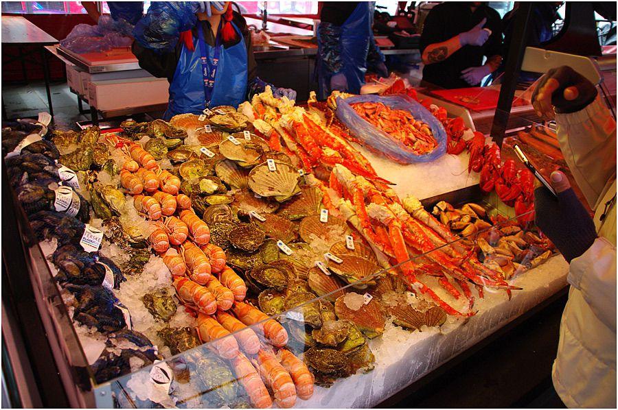 Costa Magica - Bergen - le marché aux poissons