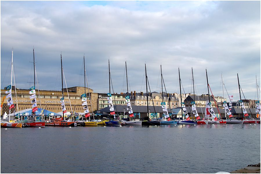la flotte des IMOCA