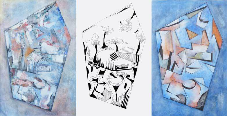 Peintures et dessin de Catherine Solier