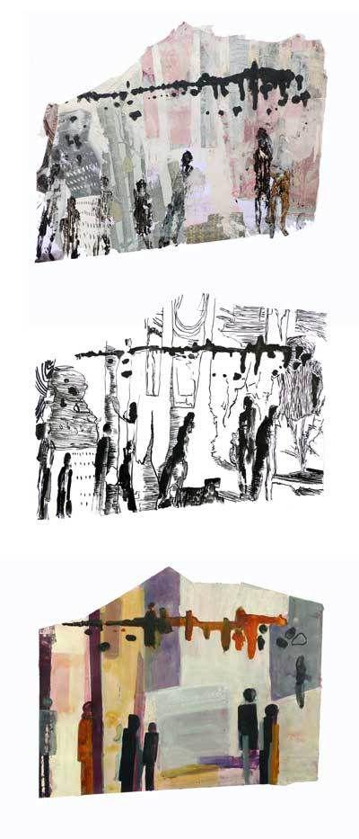 Peintures et dessin d'Aude Fauché