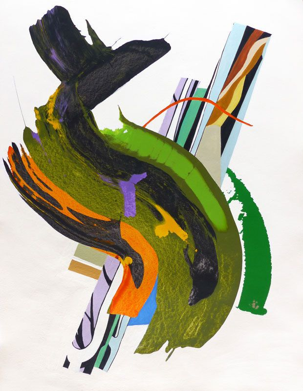 Peinture d'Isabelle Bisson
