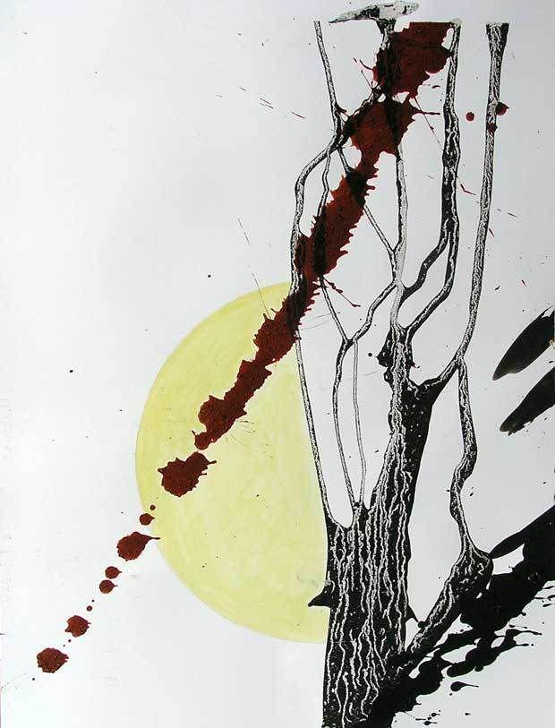 Mireille Vincent, Lâchers de peinture