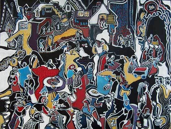 Françoise Guillemare, peintures 2001