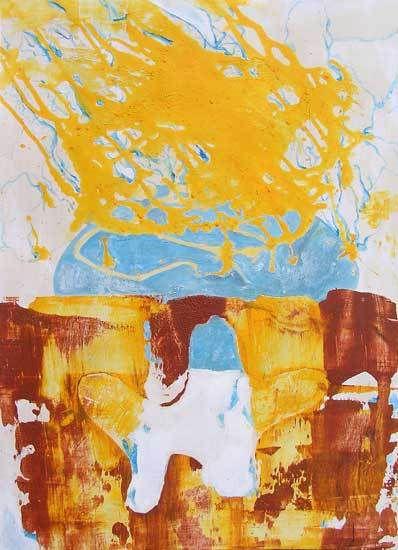 Peinture de Brigitte Courderot