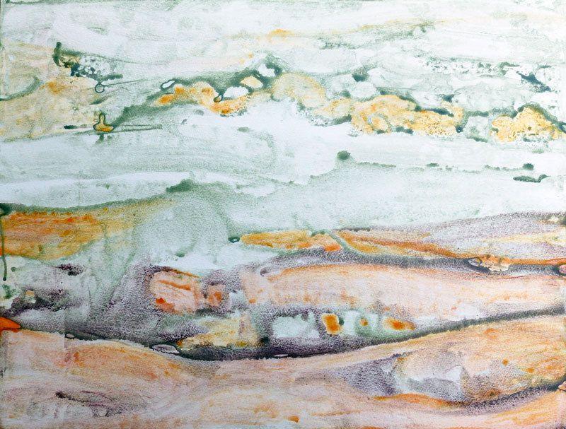 Peinture d'Odile Montet