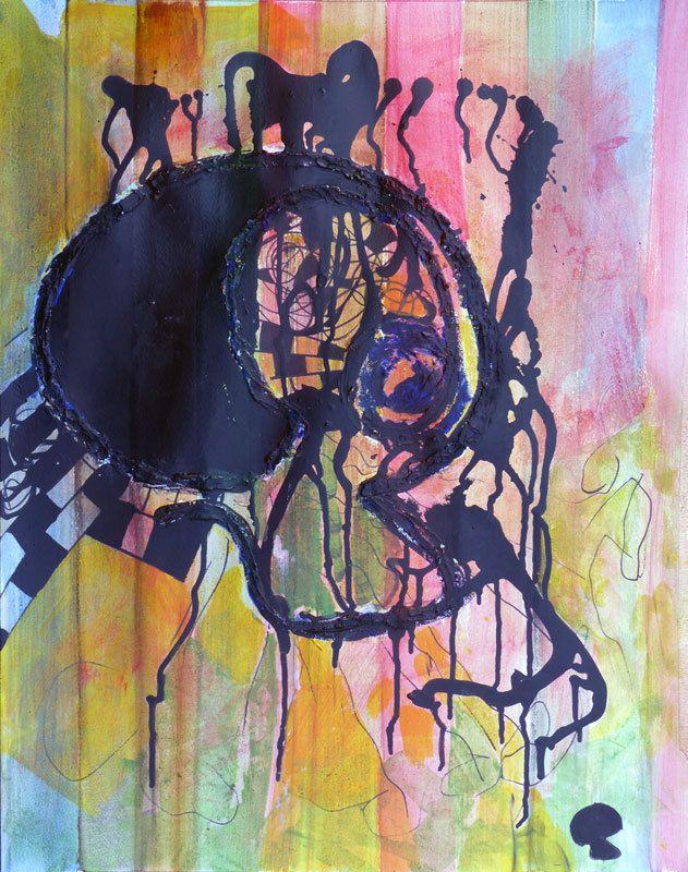 Peinture en six jours, par Sylvie Boucard.