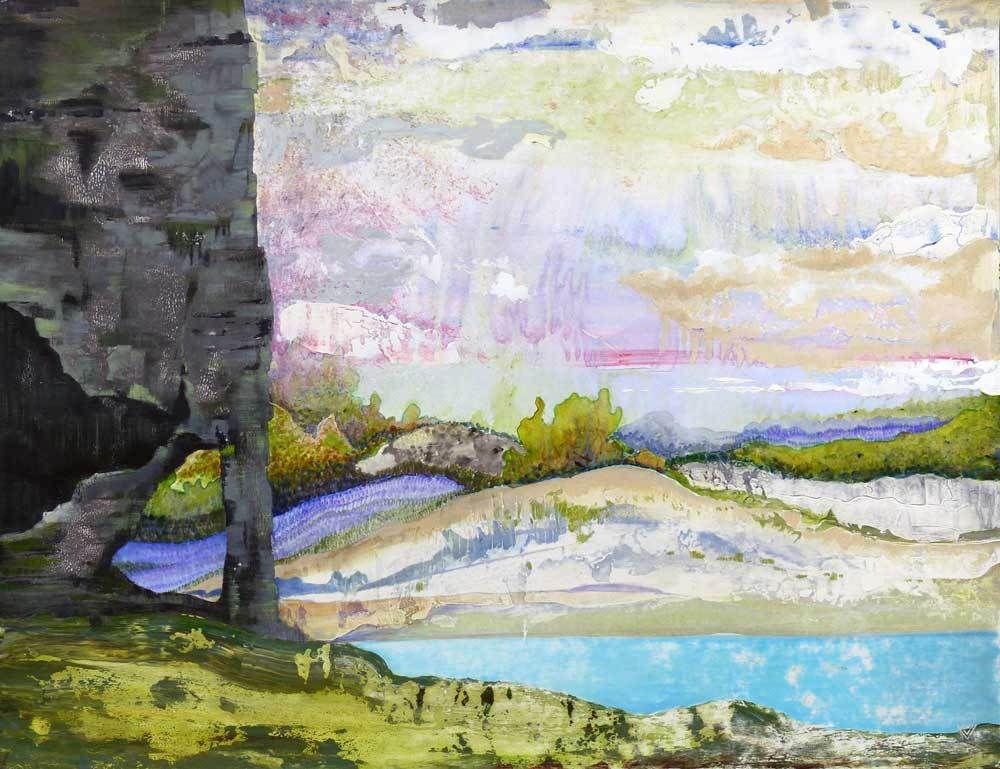 Peinture de Marie Kresser Verbois