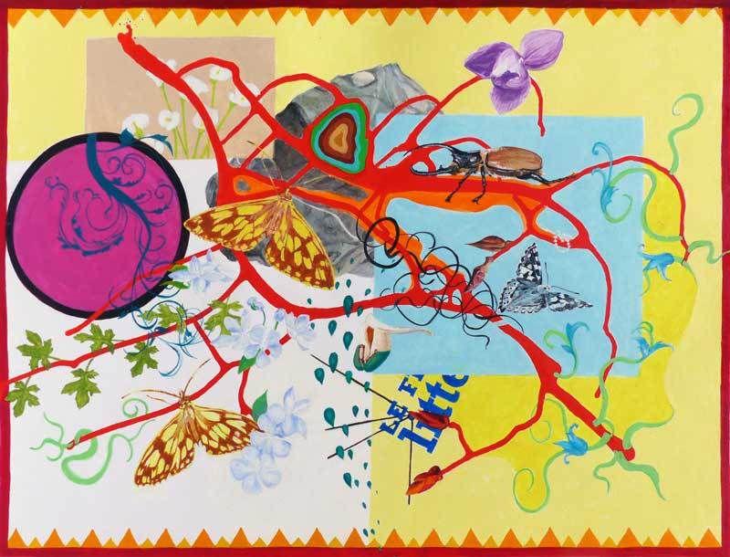 Isabelle Bisson 2016 : Peinture en neuf mois - sujet n°216