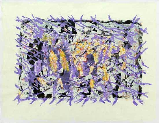 Martine Smagghe, peintures 2006 / 2007
