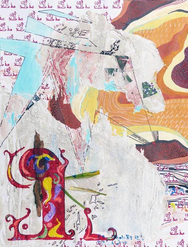 Peinture de Delphine Abécassis