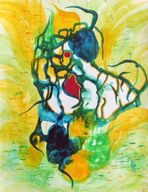 Peinture d'Elisabeth Menir