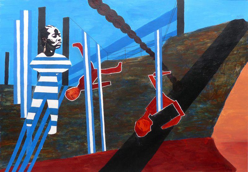 Peinture de Janine Bailliez