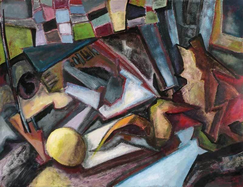 Peinture de Ladin Sabras (II)