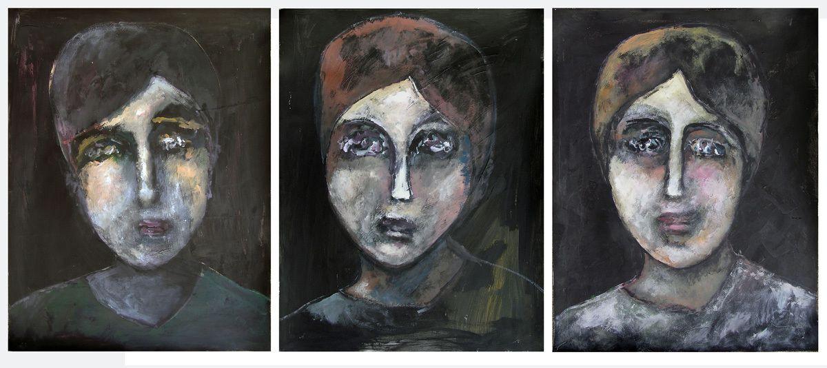 3 peintures de Ladin Sabras (cliquez pour agrandir)