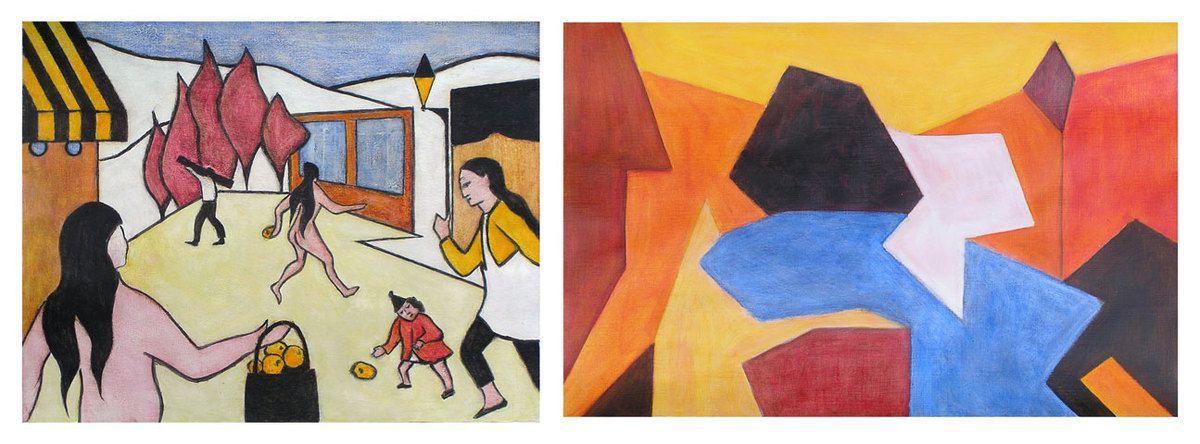 Peintures de Catherine Solier