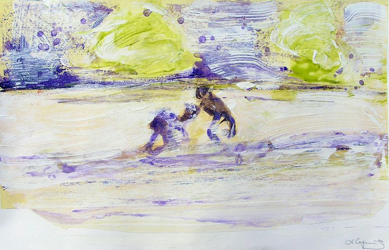 Peinture de Lucienne Cywier